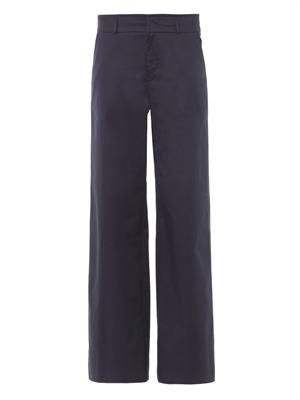 Romano wide-leg trousers