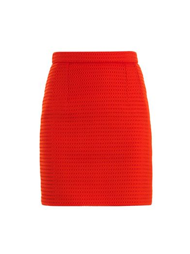 Jonathan Saunders Magda mesh knit skirt