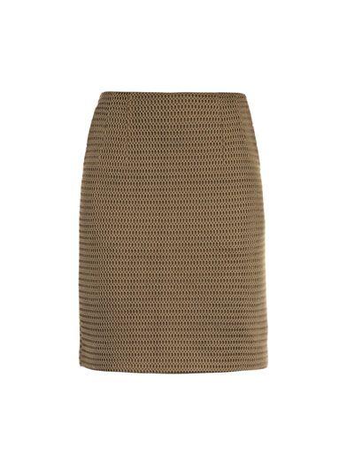 Jonathan Saunders Vanessa mesh knit skirt
