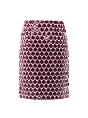 Issy teardrop pencil skirt