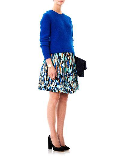 Jonathan Saunders Deborah Pollock-print skirt