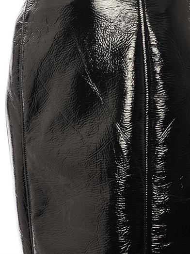 Jonathan Saunders Elina vinyl pencil skirt