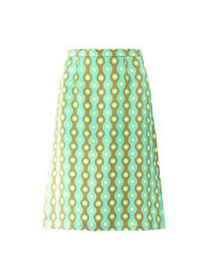 Clarissa-print skirt