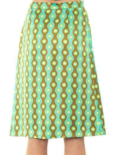 Jonathan Saunders Clarissa-print skirt