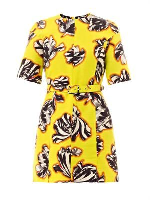 Emilie tulip-print dress