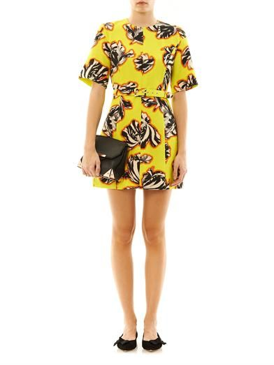 Jonathan Saunders Emilie tulip-print dress