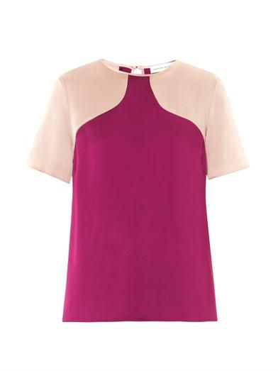 Jonathan Saunders Ellie fluid satin top
