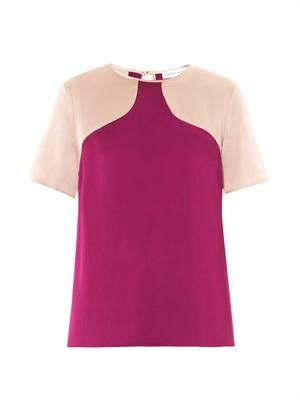 Ellie fluid satin top