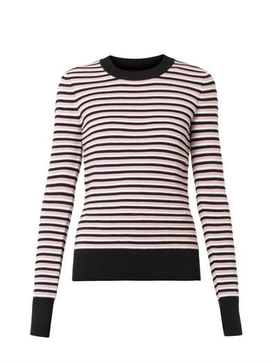 Jonathan Saunders Pye striped merino wool sweater
