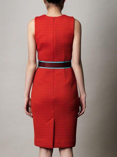 Jonathan Saunders Aude mesh shift dress