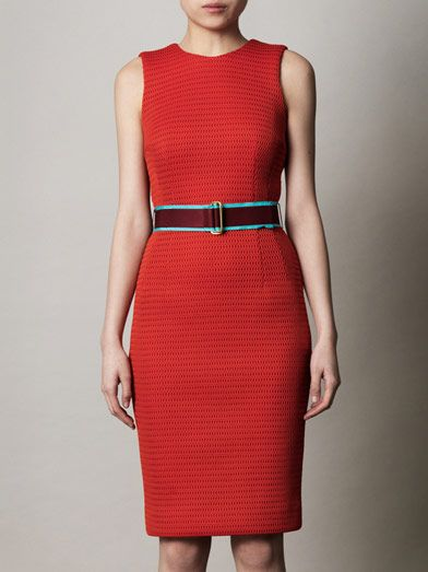 Jonathan Saunders Aude mesh shift dress