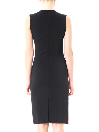 Jonathan Saunders Delphine bi-colour crepe dress