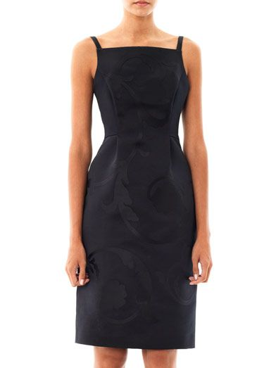 Jonathan Saunders Lucille appliqué satin dress