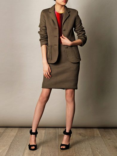 Jonathan Saunders Windsor mesh tailored jacket