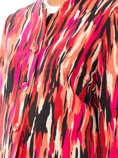 Jonathan Saunders Vanni Pollock-print jacket