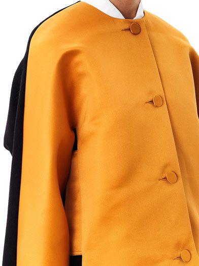 Jonathan Saunders Dree satin and wool jacket