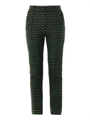 Celeste jacquard tailored trousers