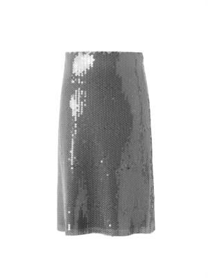 Scarlett sequin-embellished skirt