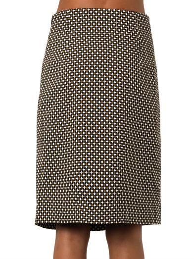 Jonathan Saunders Vida Hazard check-print skirt