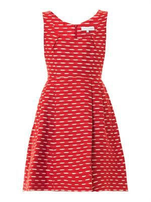 Alba jacquard dress