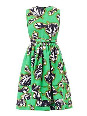 Laurel tulip print dress