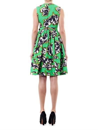 Jonathan Saunders Laurel tulip print dress