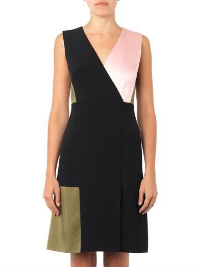 Jonathan Saunders Adeline colour-block dress