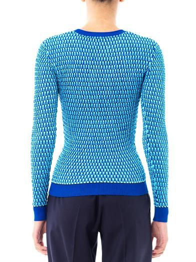 Jonathan Saunders Deborah egg-knit sweater