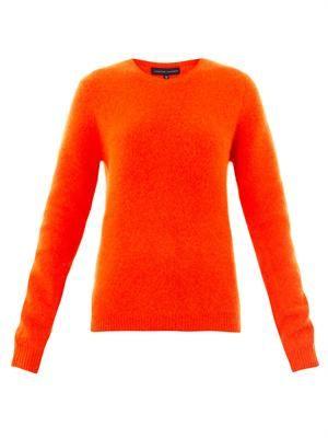 Ponti angora-blend sweater