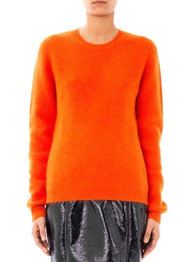 Jonathan Saunders Ponti angora-blend sweater