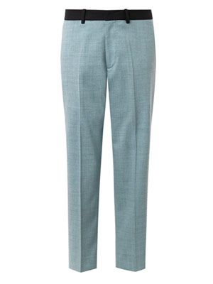 Francine wool cropped trousers