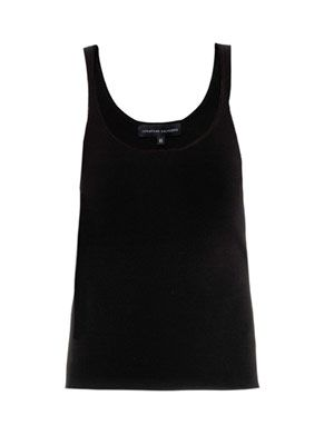Jacqui knitted vest
