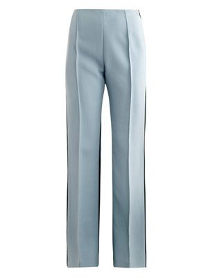 Krista high-waisted bootcut trousers
