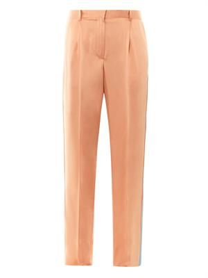 Lucia fluid satin trousers