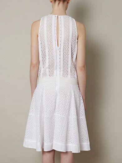 Vanessa Bruno Embroidered sleeveless dress