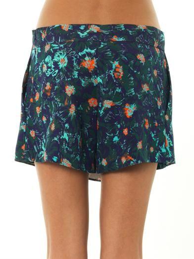 Vanessa Bruno Lagoon floral-print skorts