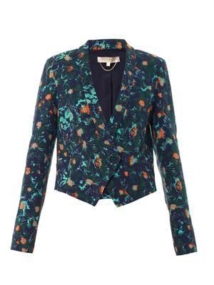 Aster floral-print jacket