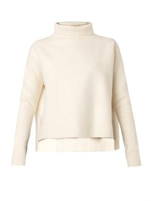Bergere roll-neck sweater