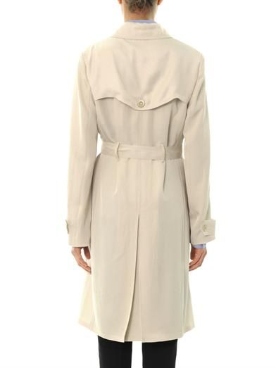 Vanessa Bruno Double-breasted twill trench coat