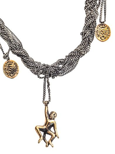 J Dauphin Braided chain necklace