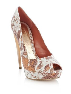 Degrade froth python shoes