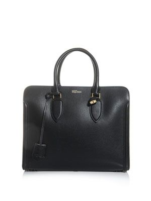 Heroine structured leather bag
