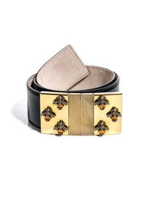 Bee buckle belt