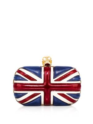 Union Jack box clutch