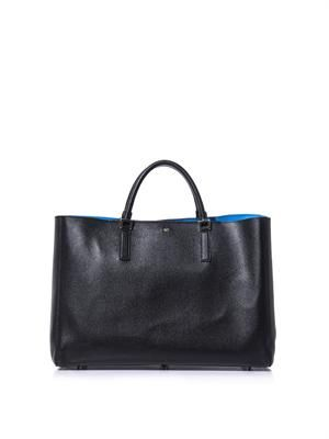 Featherweight Ebury leather tote