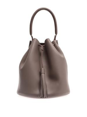 Vaughan leather tote