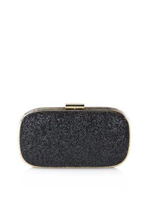 Marano glitter clutch bag