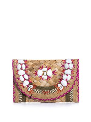 Ipanema shells clutch