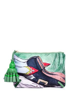 Courtney Valentine clutch