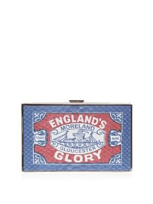 England's Glory Imperial matchbox clutch